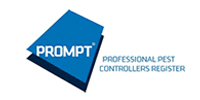 Prompt Professional Pest Controllers Register Logo